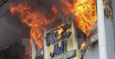 Cháy trung tâm thương mại Philippines: 37 người được cho đã thiệt mạng