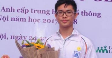 6 học sinh giành cú đúp vô địch Olympic tiếng Anh THCS và THPT