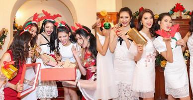 Váy áo đón Giáng sinh gợi cảm của người đẹp Việt
