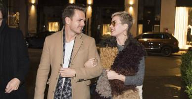 Katy Perry đi chơi với trai lạ ở Đan Mạch
