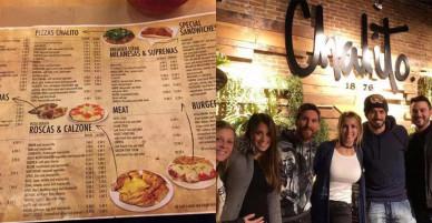 Những món ngon ở nhà hàng mới mở của vợ chồng tiền đạo Suarez