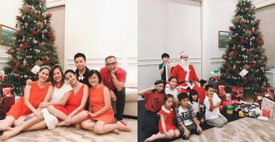 Sao Việt 24h: Vợ chồng Tăng Thanh Hà vai kề vai, má kề má cụng ly bên nhau