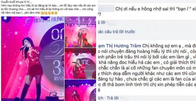 Trước chỉ trích gay gắt từ dân mạng, Hương Tràm cho biết sẽ xin lỗi Sơn Tùng