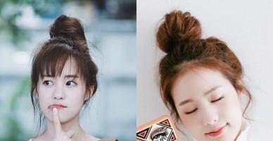 Các cách búi tóc vừa đẹp, vừa nhanh, bạn gái nhất định phải làm ngay để 'xinh ơi là xinh'