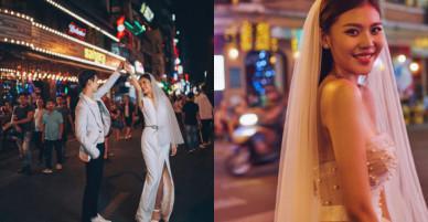 Hé lộ bộ ảnh cưới 'xinh như mộng' của Chúng Huyền Thanh cùng ông xã Jay Quân