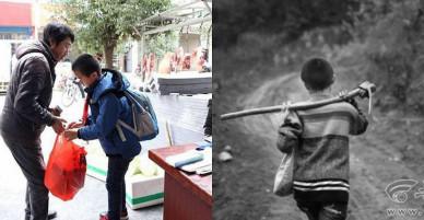 Mới 13 tuổi, cậu bé chăm bố mẹ bị mù vừa cố gắng đi học gây xúc động mạnh cho thế hệ trẻ