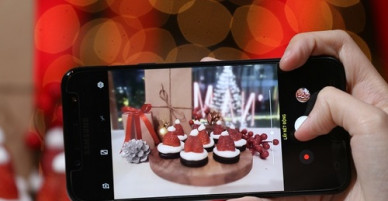 Nghệ thuật chụp ảnh đồ ăn bằng điện thoại