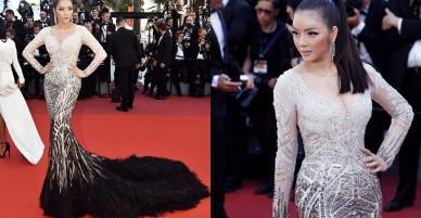 Váy xuyên thấu của Kỳ Duyên, Hà Hồ đua nhau lọt top váy dạ hội đẹp nhất 2017