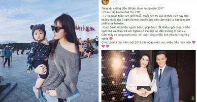 Loạt sao Việt gửi lời chúc mừng năm mới 2018