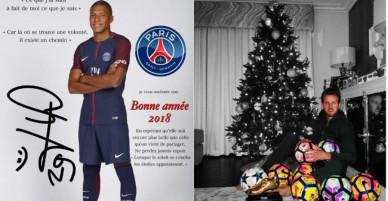 Siêu sao bóng đá thế giới chúc mừng năm mới 2018