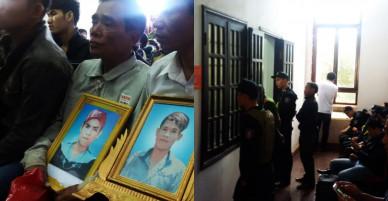 Ảnh: An ninh thắt chặt tại phiên xử vụ bắn chết 3 người ở Đắk Nông