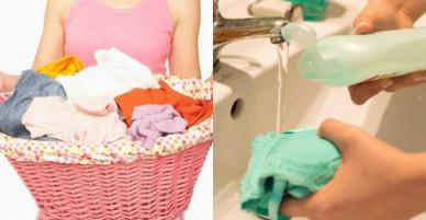 """Quần áo nhanh hóa """"giẻ rách"""" vì những sai lầm chị em thường mắc khi giặt bằng tay"""