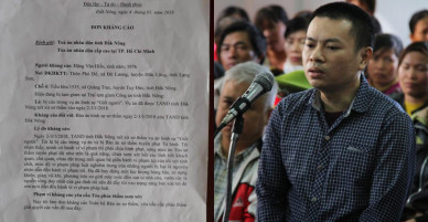 Đặng Văn Hiến kháng cáo toàn bộ bản án tử hình
