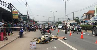 Mẹ tử vong trong tư thế ôm con gái vào lòng sau va chạm giao thông