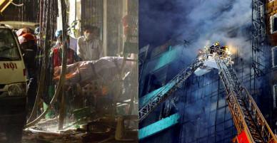 Nhìn lại toàn cảnh vụ cháy quán karaoke khiến 13 người chết ở HN