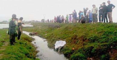 Hà Tĩnh: Bàng hoàng phát hiện thi thể nam thanh niên dưới mương nước