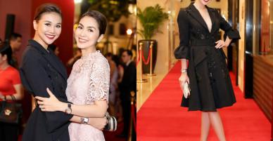 Thanh Hằng đẹp sắc sảo, đọ sắc bên Hà Tăng tại sự kiện với Lý Minh Thuận – Phạm Văn Phương