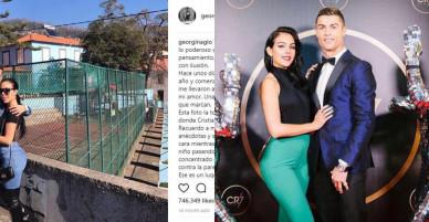 """Georgina lần đầu """"so deep"""", thán phục nghị lực của Ronaldo"""