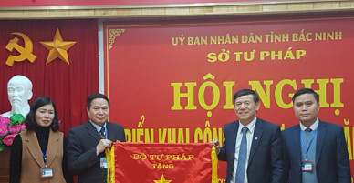 Sở Tư pháp tỉnh Bắc Ninh nâng cao chất lượng công tác tham mưu cải cách Tư pháp