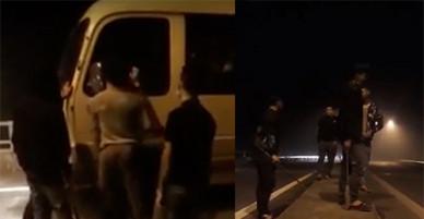 Nhóm thanh niên mang kiếm xin tiền trên cao tốc bị khởi tố