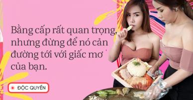 Phỏng vấn độc quyền nữ thạc sĩ bán cơm gà Thái Lan: Bằng cấp giúp ta có thêm cơ hội chứ không quyết định tất cả