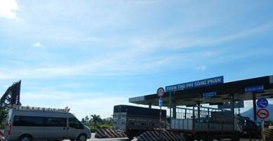 Đồng ý miễn, giảm giá qua trạm thu phí Sông Phan, Bình Thuận