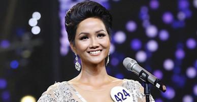 Sáng nay, Hoa hậu Hoàn vũ VN HHen Niê trả lời trực tuyến
