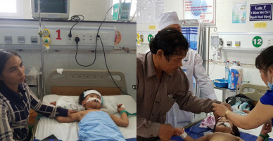 Nghi án cha đầu độc 3 con đẻ bằng thuốc trừ sâu: Công an vào cuộc