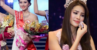 Những Hoa hậu Việt có gia cảnh khó khăn trước khi đăng quang
