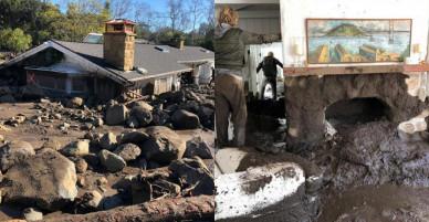 Lũ bùn càn quét California, ít nhất 17 người chết