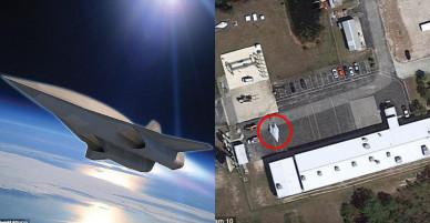 Ảnh vệ tinh hé lộ máy bay siêu thanh tốc độ 7.400 km/h của Mỹ?