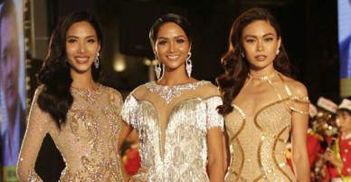 Hoa hậu HHen Niê đọ sắc rừng sao Việt trên thảm đỏ