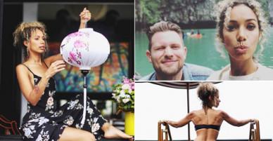 Quán quân X Factor Anh và bạn trai đi du lịch từ Hội An đến Hà Nội