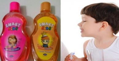Nước súc miệng trẻ em nhiễm vi sinh vật
