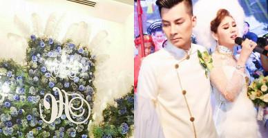 """Toàn cảnh """"đám cưới thế kỷ"""" đẹp như cổ tích của Lâm Khánh Chi"""