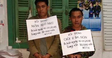 Chặn 30.000 viên ma túy tổng hợp từ Lào vào Việt Nam