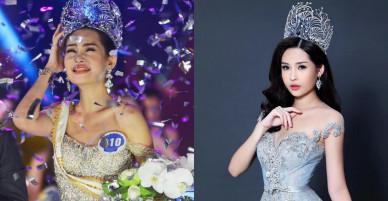 Hoa hậu Đại dương Ngân Anh nói gì giữa ồn ào đề nghị hủy danh hiệu?