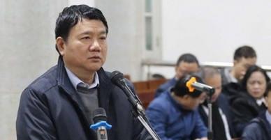 Ông Đinh La Thăng: Dù mức án nào tôi cũng chấp nhận
