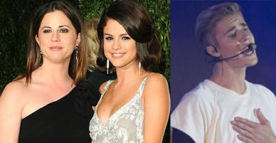Mẹ Selena Gomez khẳng định không ưa Justin Bieber