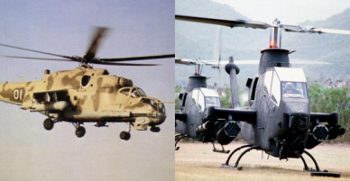Thảm bại của tiêm kích Mỹ trước trực thăng trong tập trận năm 1978