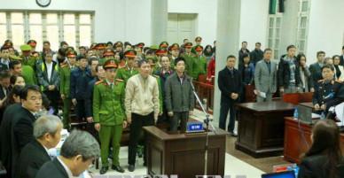 Chùm ảnh: Phiên tòa xét xử Trịnh Xuân Thanh và đồng phạm sáng 15/1