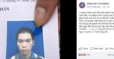 Phạm nhân trốn trại ở Thái Nguyên ra đầu thú