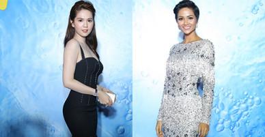 Ngọc Trinh gợi cảm, Hoa hậu HHen Niê rạng rỡ trên thảm đỏ Tech Awards 2017