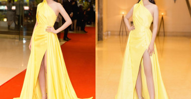 Á hậu Thanh Tú lần đầu mặc hở bạo, để lộ chân dài 1,2m bên Đỗ Mỹ Linh