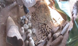 Di dời 260 vật liệu nổ ở một vựa phế liệu tại Quảng Trị