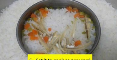 Cách nấu cơm và cháo 2 trong 1 khi nhà có trẻ ăn dặm