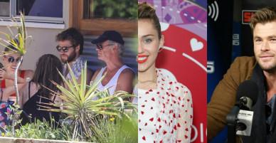 Chris Hemsworth hào hứng kể về 'cô em dâu tương lai' Miley Cyrus