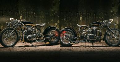 Duke Yamaha XS650: Chúa tể của các vì tinh tú