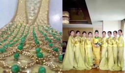Xôn xao đám cưới nghìn tỷ của cô dâu người Myanmar