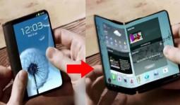 Galaxy X màn hình gập bị lộ thiết kế